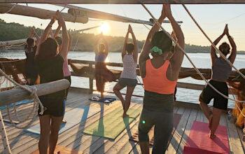 Yoga sui Trabucchi del Gargano